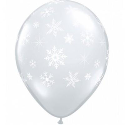 Balão floco de neve