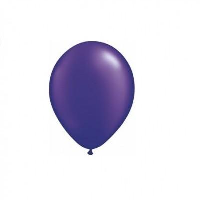 Balão roxo metalizado
