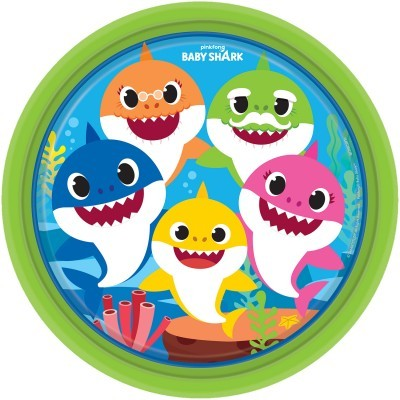 8 Pratos Baby shark