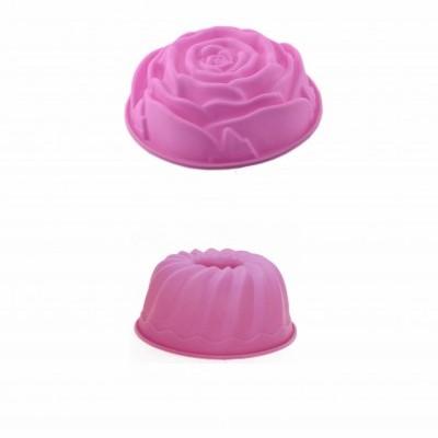 4 Formas silicone rosa