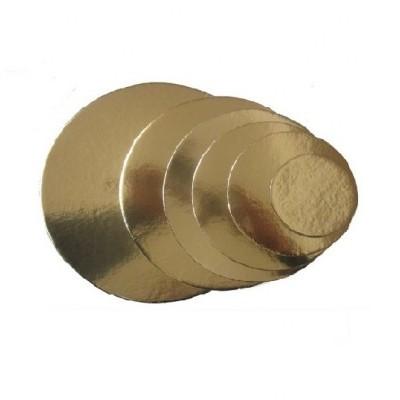 Discos fino Ouro 18cm