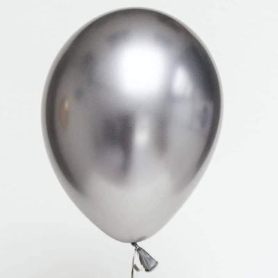 Balão chrome prateado