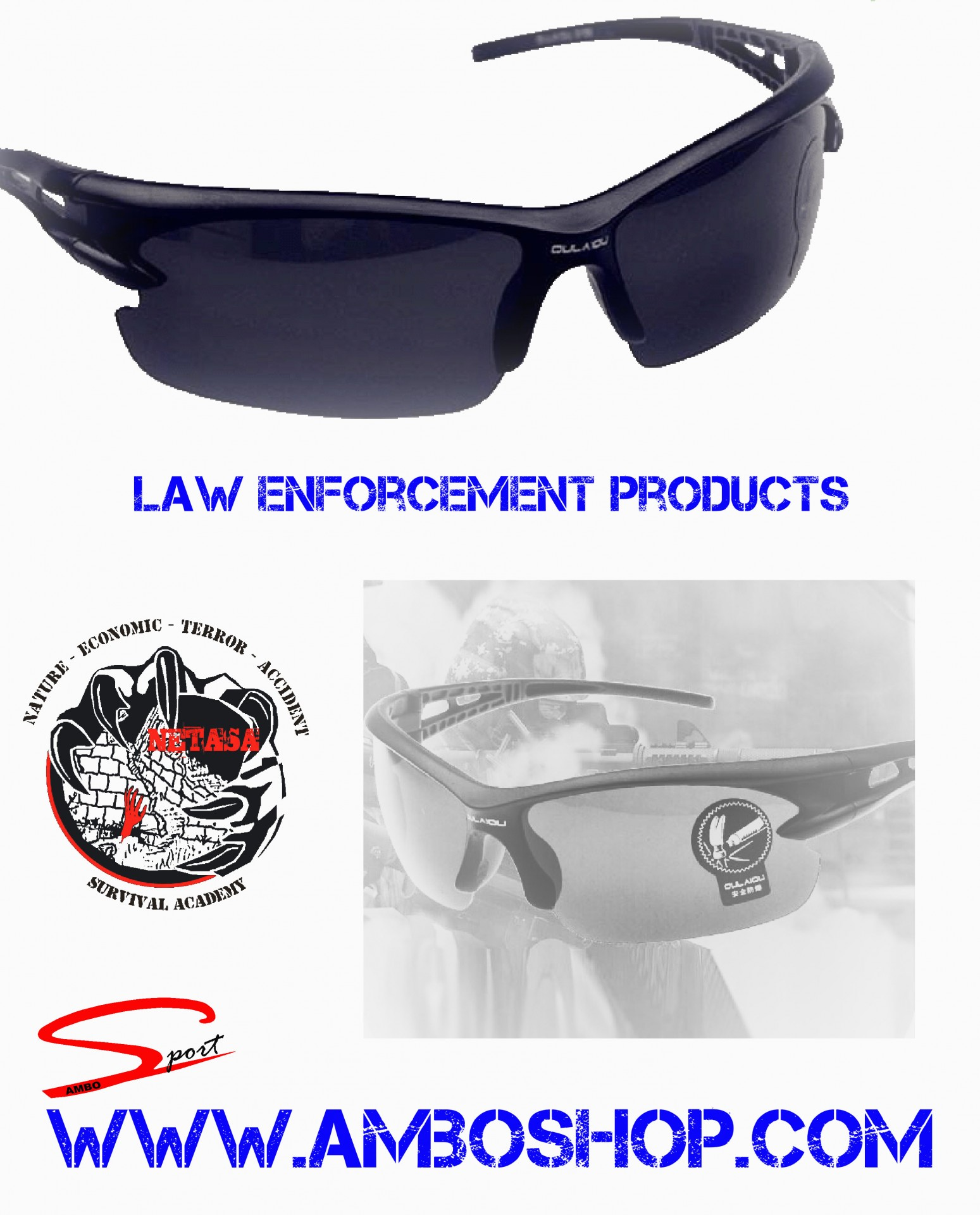 Security  Sunglasses UV 400