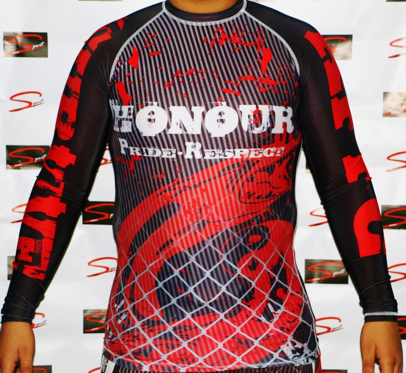 Rash Guards AFFC manga longa