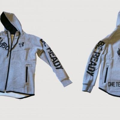 Fleece Jacket com Capuz