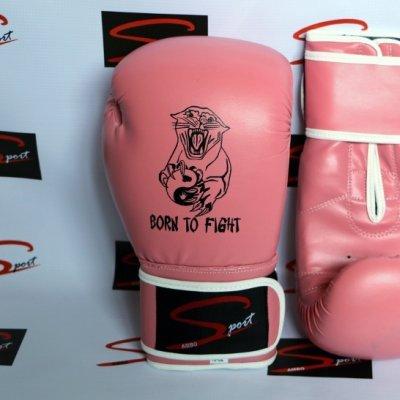"""Luvas de Boxe 10 OZ """"Pink"""""""