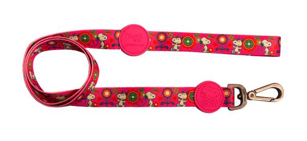 Trela Pinkflower Oficial Snoopy