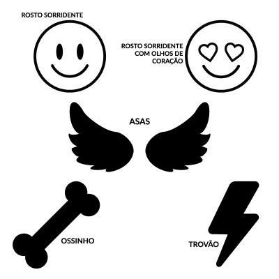 Etiquetas em napa personalizadas para Julius-K9 ou acessórios similares