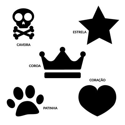 Etiquetas personalizadas para Julius-K9 ou peitorais similares