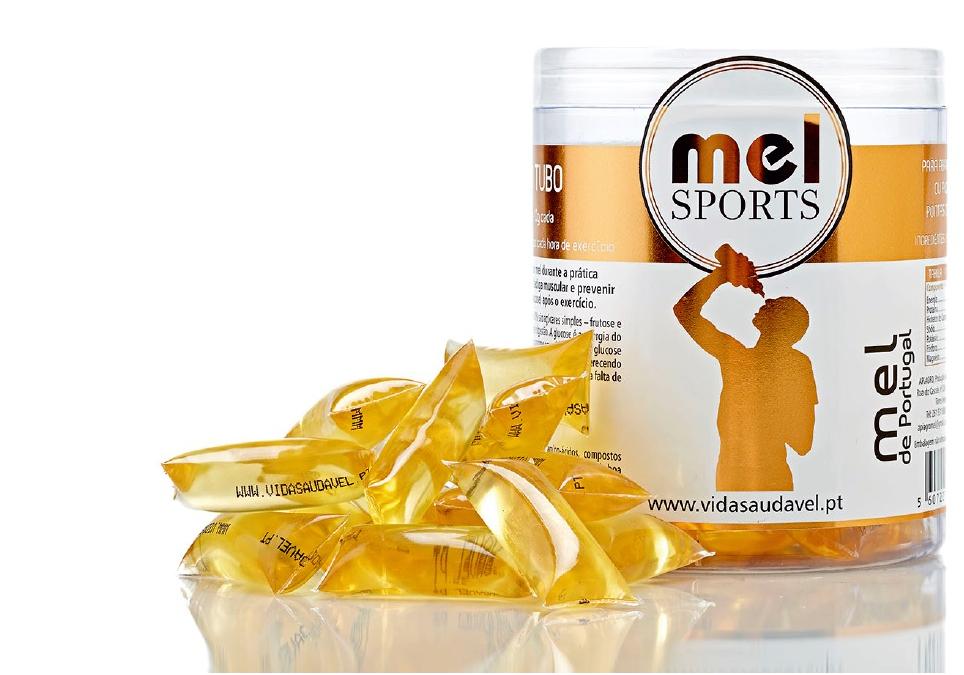 Mel Sports Energético - Boião 30 Uni