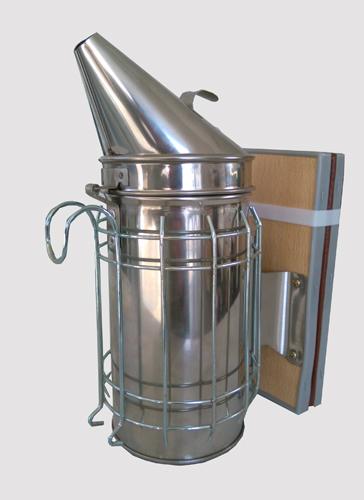 Fumigador Aço Inox Grande 10cm c/ Protecção