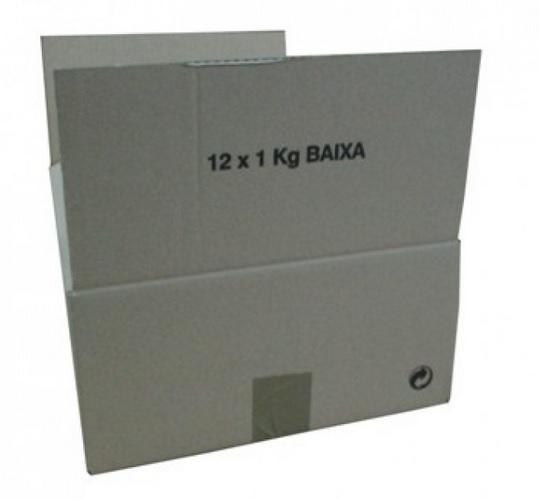 Caixa Cartão 12 Frascos - 1kg