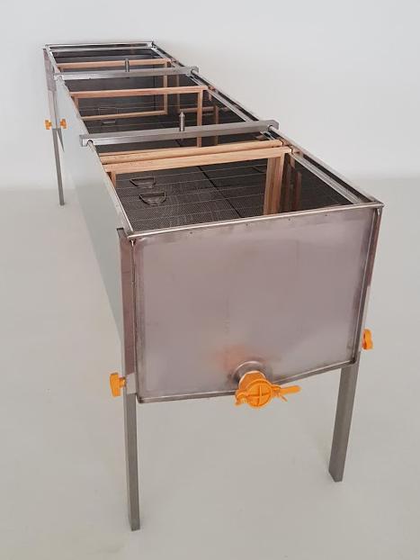 Tina desopercular Aço Inox com 1500x510x395mm