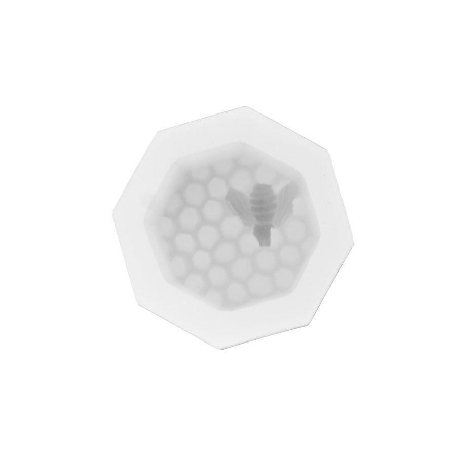 Molde Silicone modelo Favos e Abelha (para velas ou sabonetes)