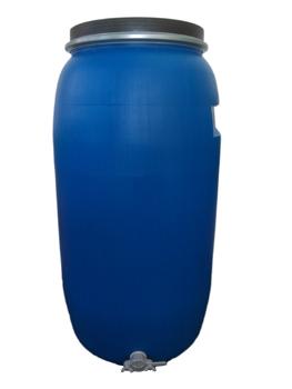 Bidão Plástico 220lt c/ torneira