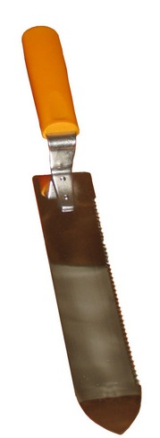 Faca Desopercular - Ponta Curva c/ Serrilha Simples 25cm
