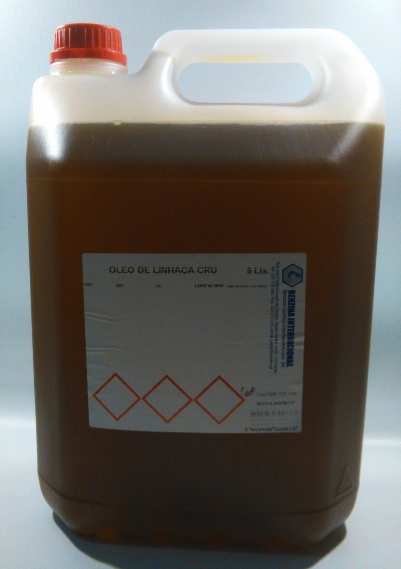 Oleo Linhaça Cru 5Lt
