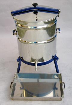 Caldeira Aço Inox Eléctrica para Cera 220v 80lt