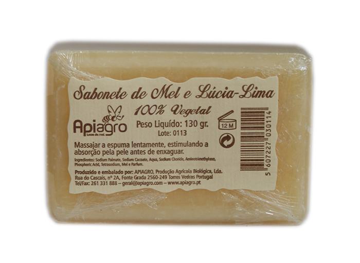 Sabonete Mel e Lúcia-Lima
