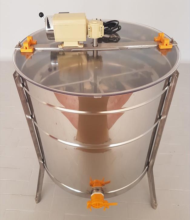 Extractor Inox Eléctrico Radial 12 quadros