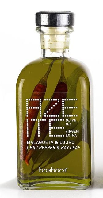 Azeite Virgem Extra c/ Malagueta e Louro 250ml