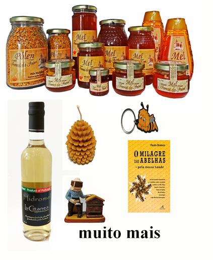 Loja (Mel, Pólen, Alimentação Natural, Velas, Sabores de Portugal, Prendas)