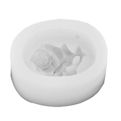 Molde Silicone modelo Flor (para velas ou sabonetes)