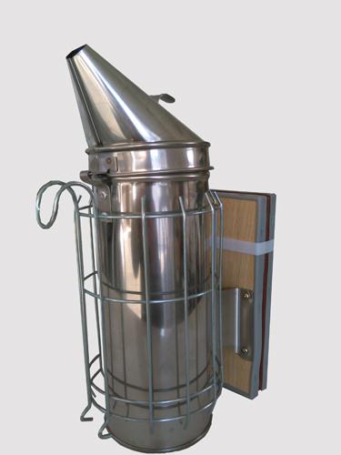 Fumigador Aço Inox Gigante 10cm c/ Protecção