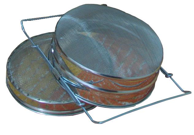 Filtro Oval Extensivel com rede Dupla
