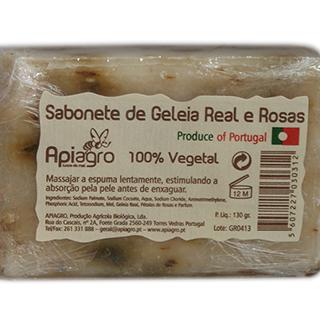 Sabonete de Geleia Real e Rosas