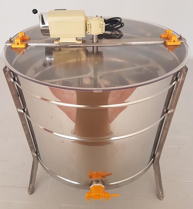 Extractor Inox Eléctrico Radial 20 1/2 quadros