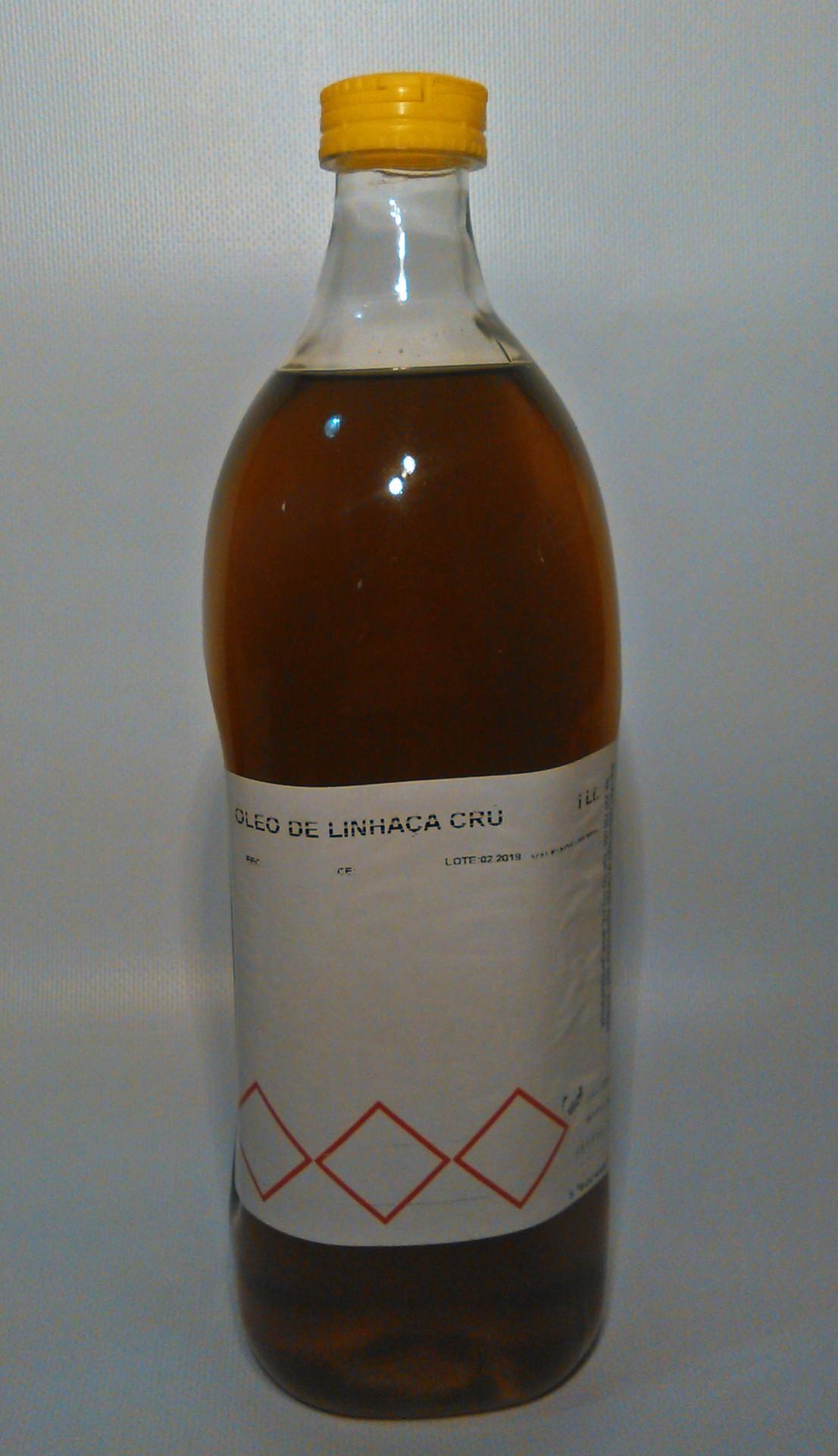 Oleo Linhaça Cru 1Lt