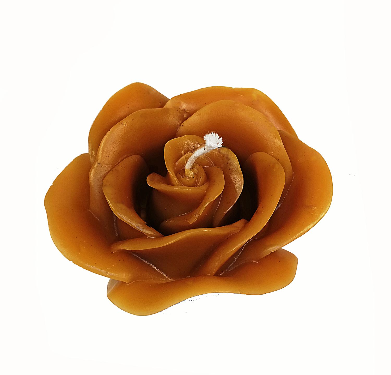 Vela Modelo Flor Rosa 6cm