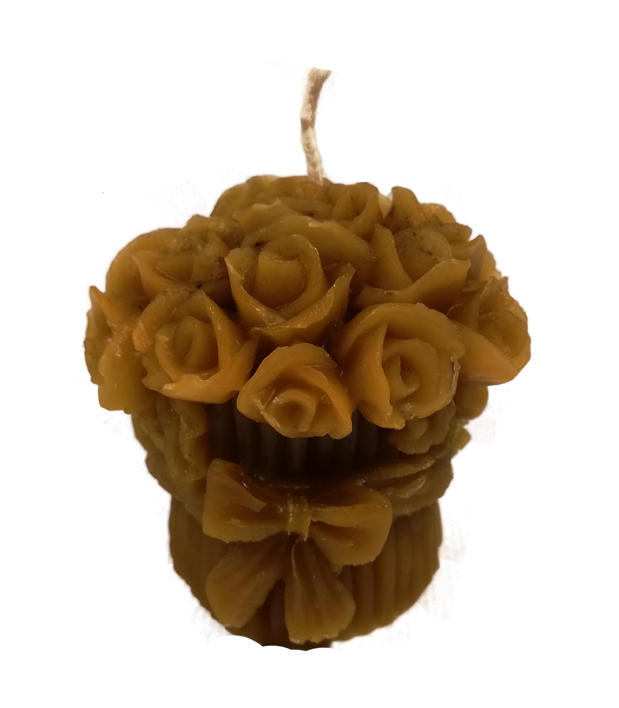 Vela Modelo Ramo Flores 6cm