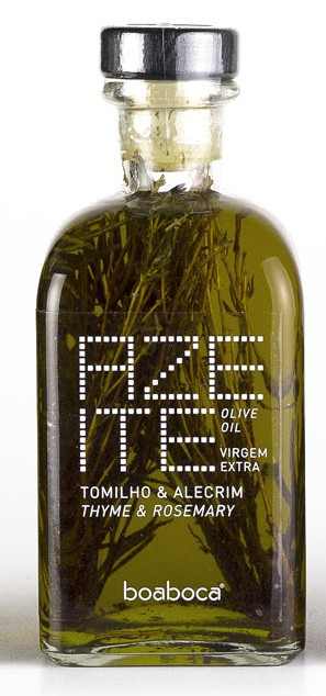 Azeite Virgem Extra c/ Tomilho e Alecrim 250ml