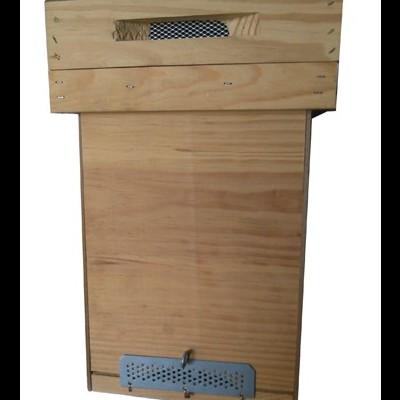 Colmeia Núcleo - Porta Enxames em Platex c/ Quadros s/ Cera
