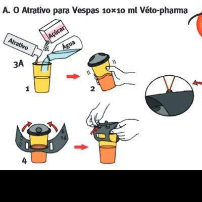Armadilha para Vespas Kit 1