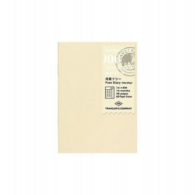 Traveler's Notebook recarga passport size 006