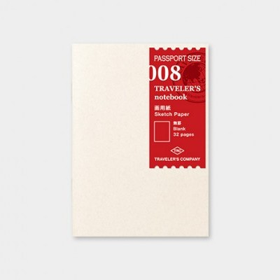 Traveler's Notebook recarga passport size 008