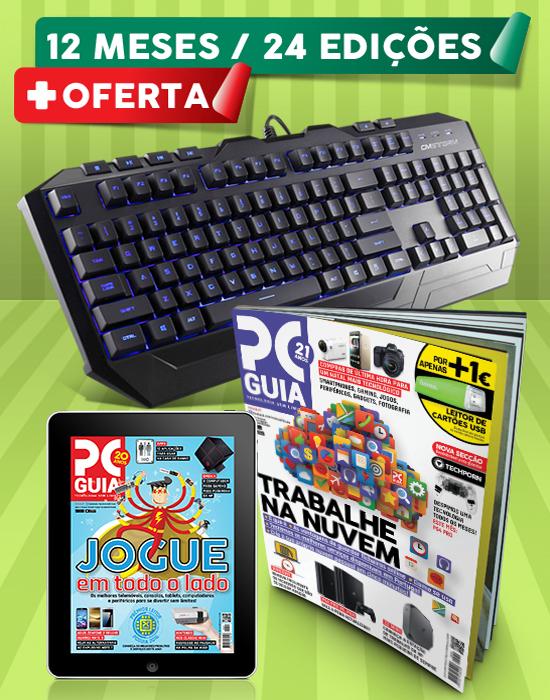 Assinatura 12 Meses Revista PCGuia (Papel + Digital) Esp