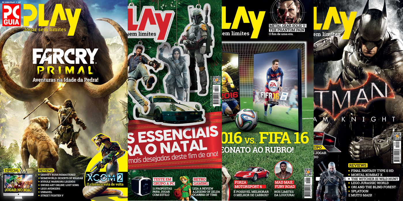 Revista PCGuia Play (Papel Impressa)