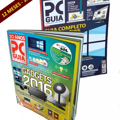 Assinatura Papel Revista PCGuia (12 Meses) N