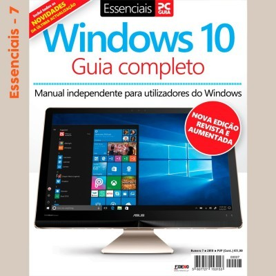 Essenciais PCGuia 07 - NOVO Guia Completo do Windows 10