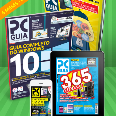 Assinatura 6 Meses Revista PCGuia (Papel + Digital)