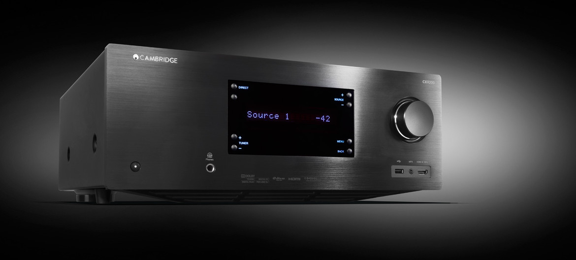 CXR-200 Amplificador AV + Network Player Cambridge Audio