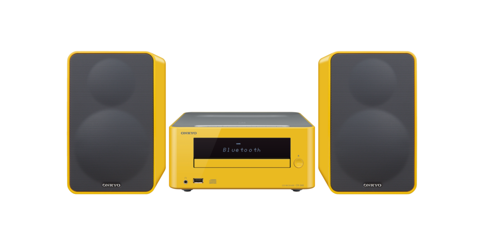 CS-265 Yellow Sistema Hi-Fi ONKYO