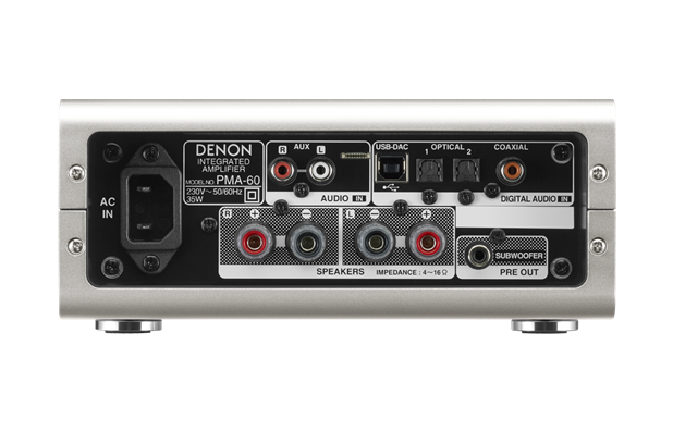 PMA-60 Amplificador Integrado com bluetooth Denon