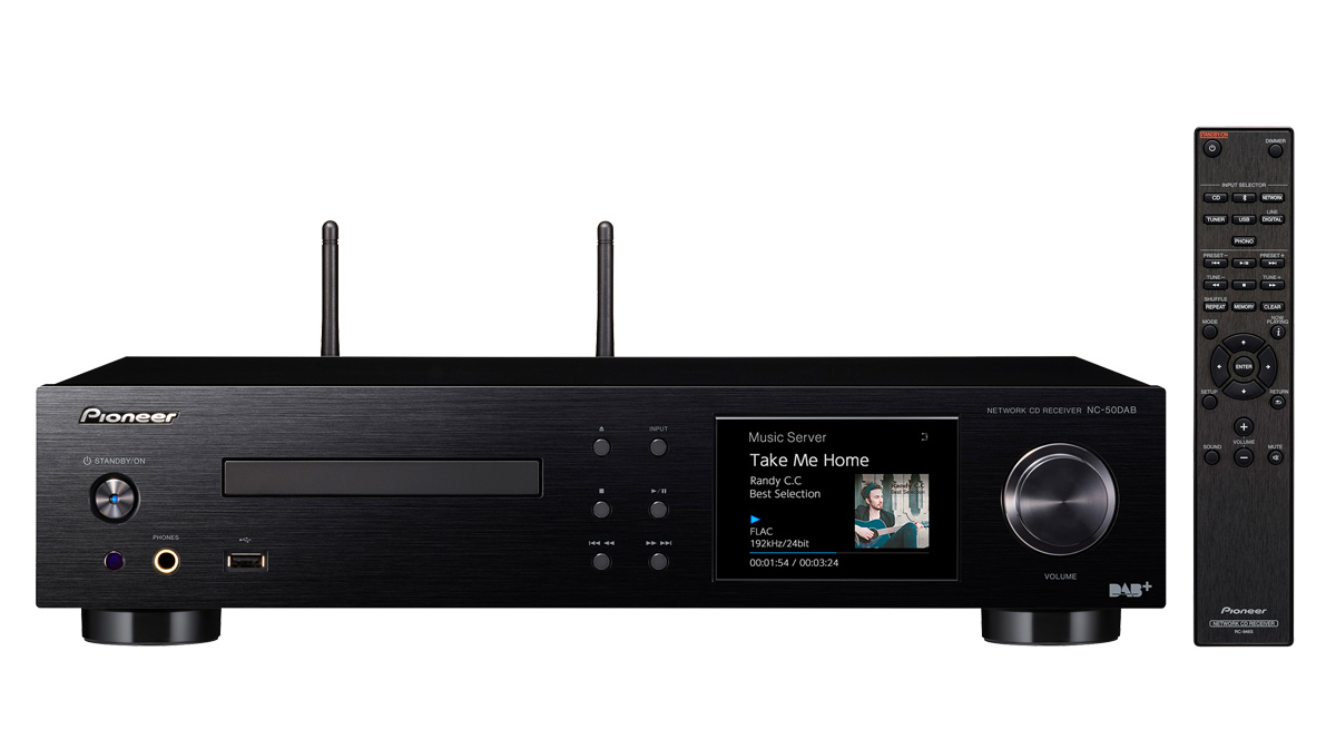 NC-50DAB-B Amplificador Network Player PIONEER