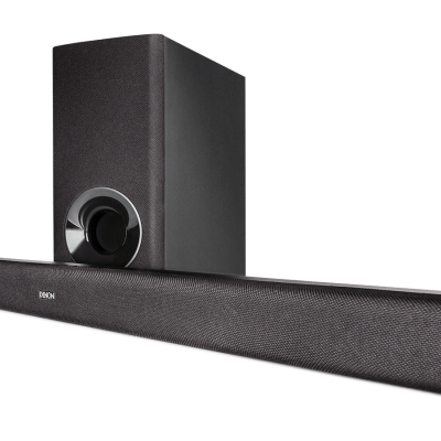 DHT-S316 Barra de som com bluetooth subwoofer wireless Denon