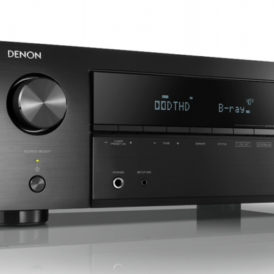 AVR-X550BT receiver AV 5.2 com Bluetooth Denon
